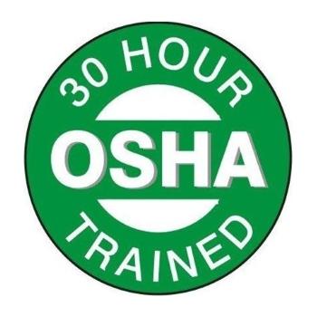 OSHA 30-Hour Trained Professional